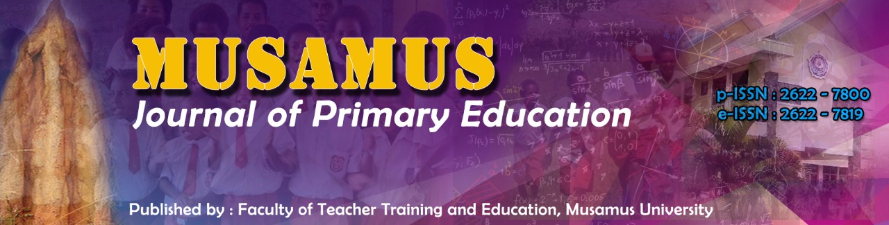 Musamus Journal of Primary Education