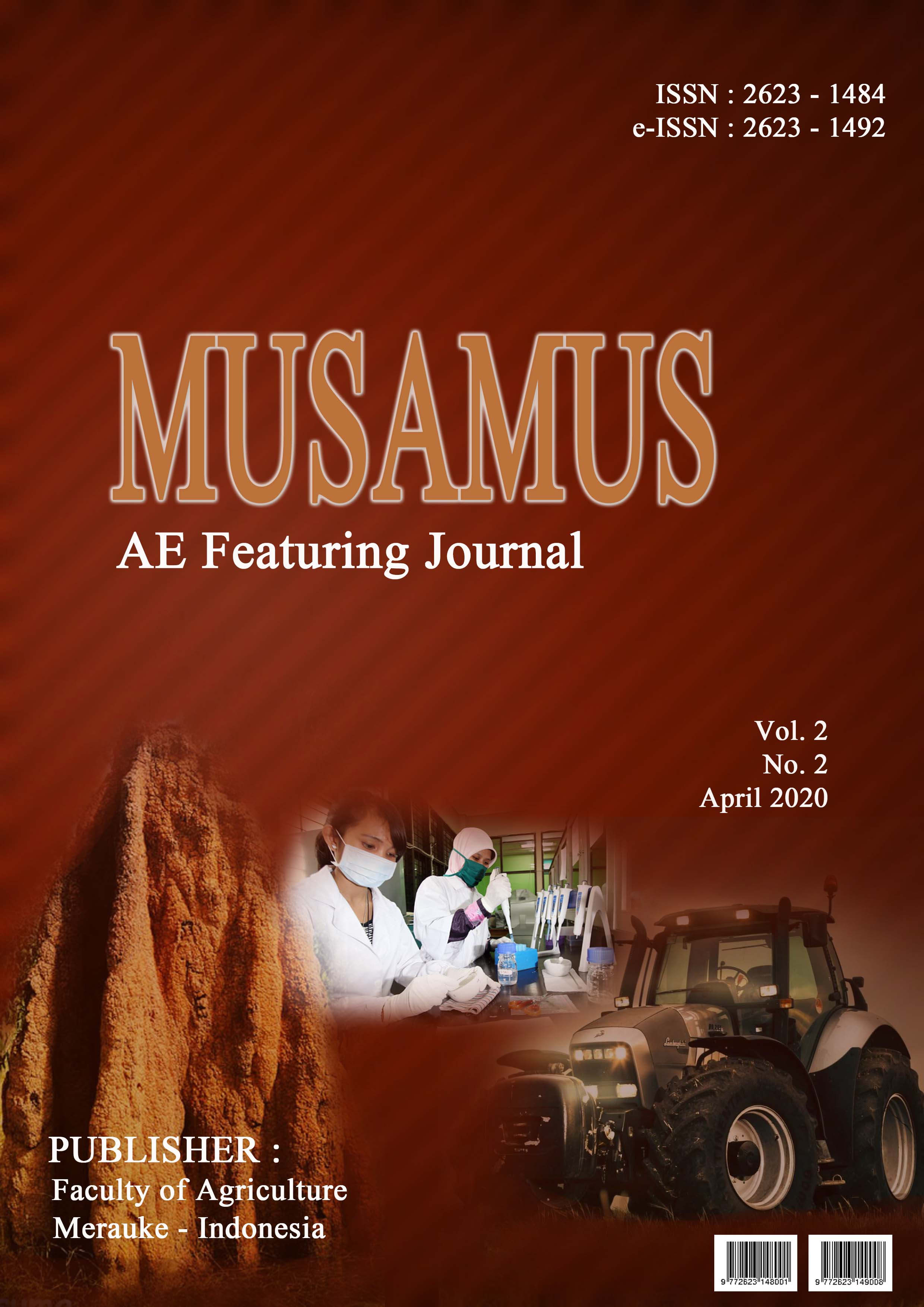 Musamus agriculture engineering featuring journal.